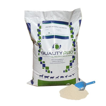Premix Mineral Salmones - Qualitypro