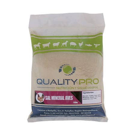 Sales Minerales Aves - qualitypro
