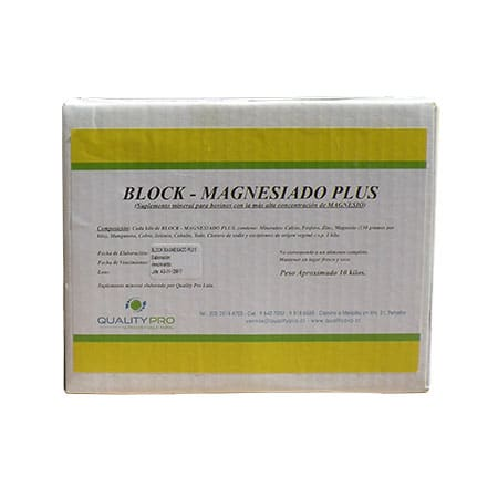 Block Magnesiado Plus - Qualitypro